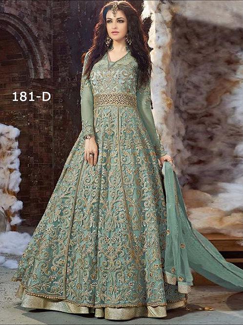 181D Light Green Exclusive Designer Replica Suit