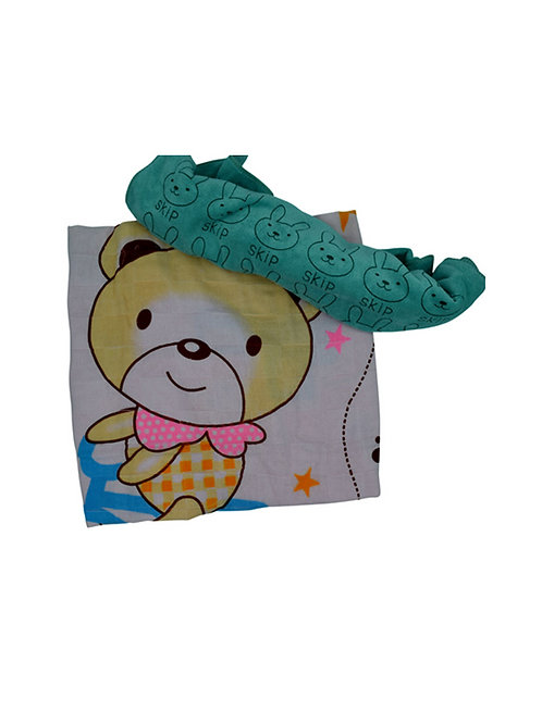 100% Cotton Muslin Embroidered Baby Towels