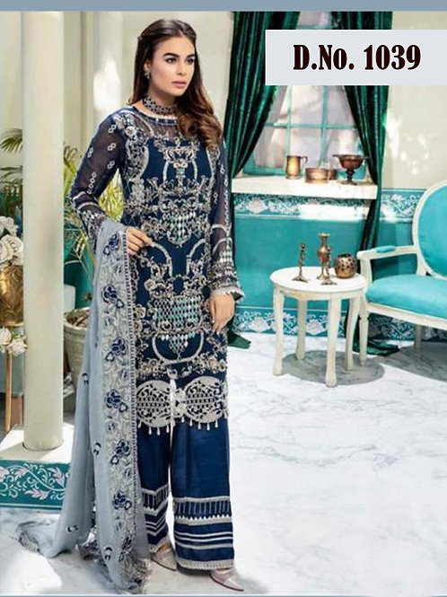 1039 Designer Pakistani Suit