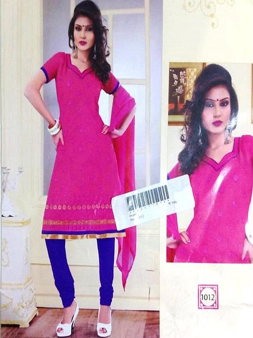 1012 Magenta Designer Daily Wear Salwar Suit