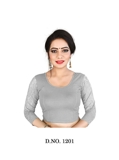 1201 Feminine Ethnic Cotton Lycra Hosiery Blouse Collection