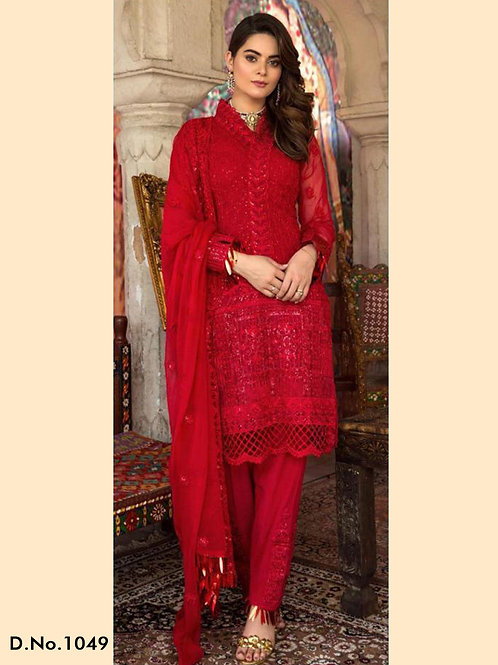 1049 Pakistani Style Designer Suit