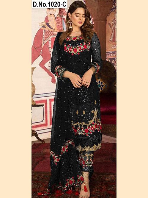 1020C Pakistani Style Designer Suit