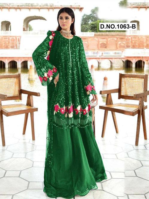 1063B Pakistani Style Designer Suit
