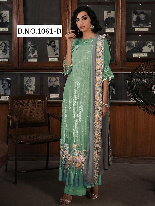 1061D Designer Pakistani Suit