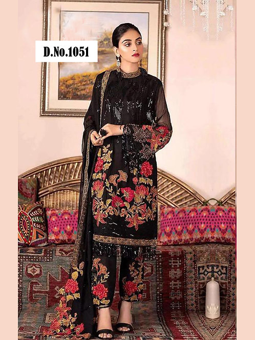 1051 Designer Pakistani Style Suit