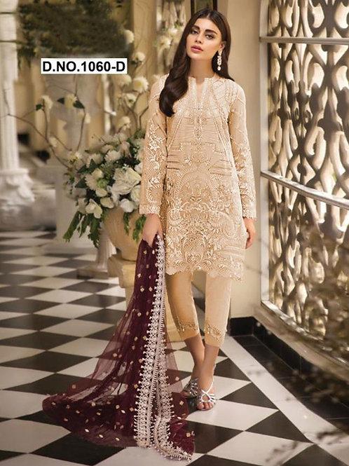 1060D Pakistani Style Designer Suit