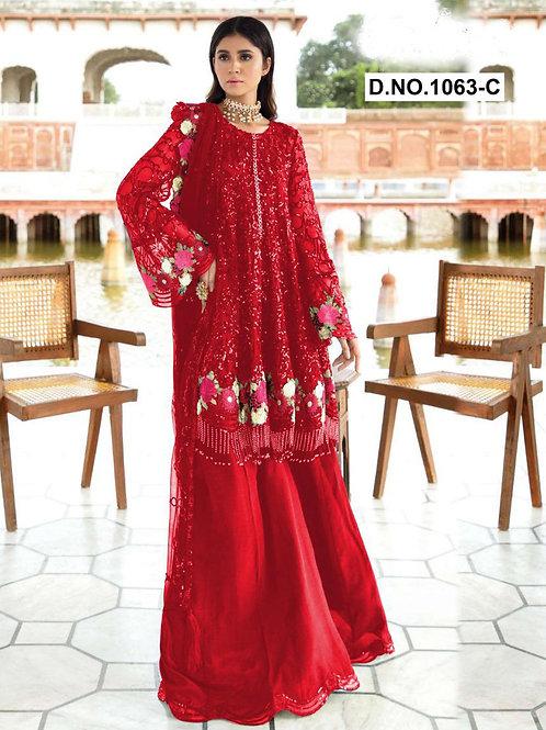 1063C Pakistani Style Designer Suit