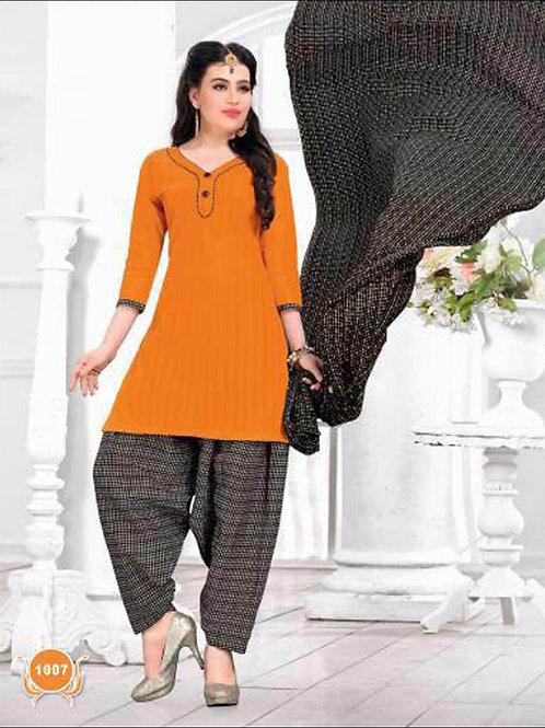 1007Orange Casual Wear Designer Suit