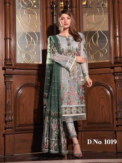 1019 Designer Pakistani Suit