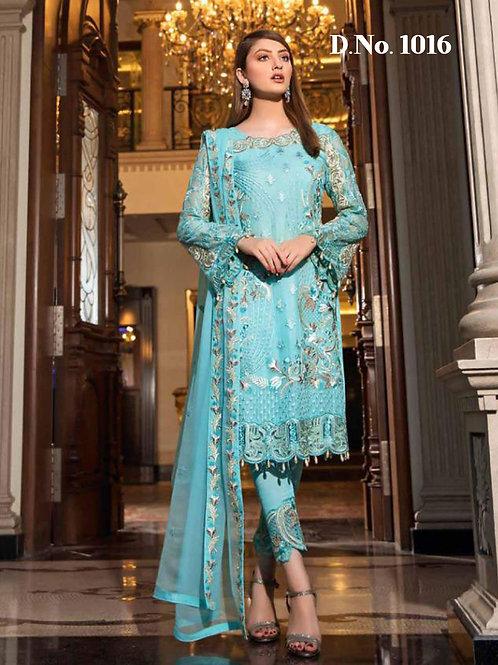 1016 Designer Pakistani Suit