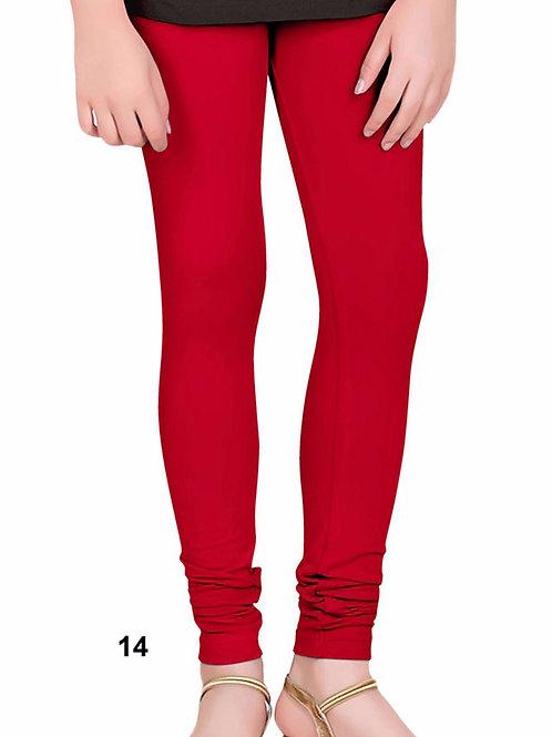 14 Red 4 Way Lycra Leggings