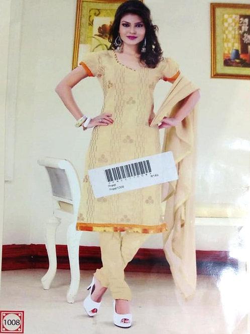 1008 Ivory Designer Daily Wear Salwar Suit