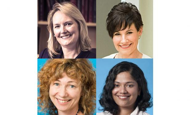 Professor Helena Teede, Dr Elizabeth Sigston, A/Prof Jacqui Boyle, Dr Anju Joham Advancingwomen in medical leadership