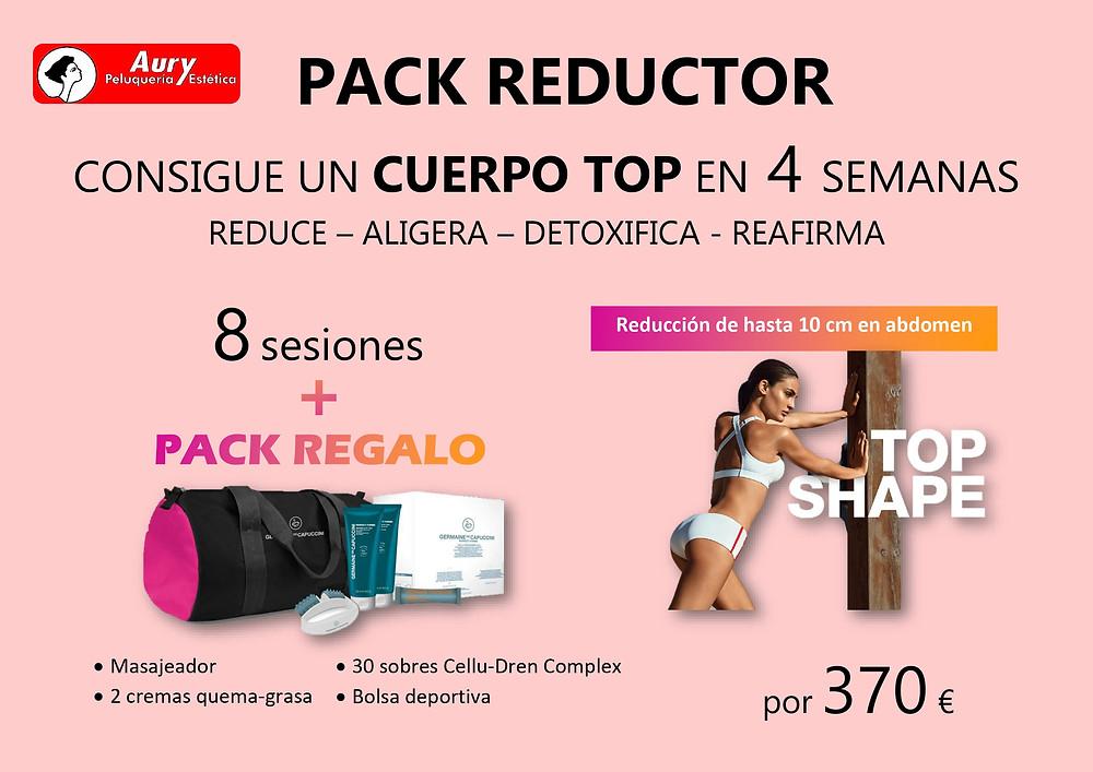 pack oferta reduccion reductor silueta adelgazar tratamiento corporal