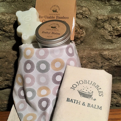 Baby Gift Set - Smokey Grey