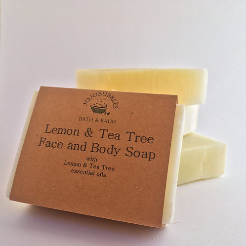 Lemon & Tea Tree Soap