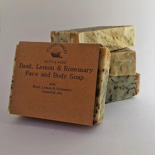 Basil, Lemon & Rosemary Soap