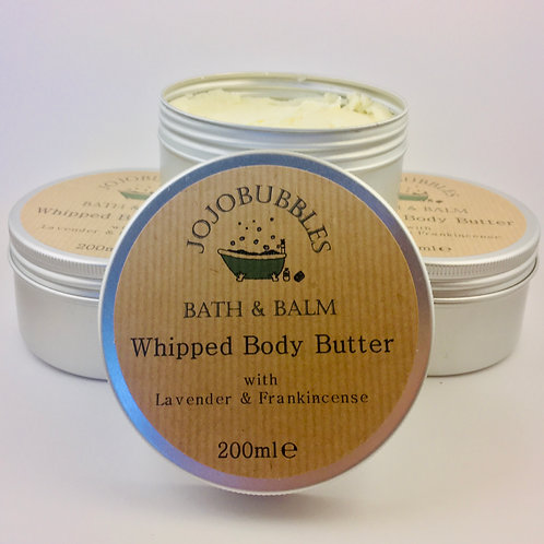Whipped Body Butter Lavender & Frankincense