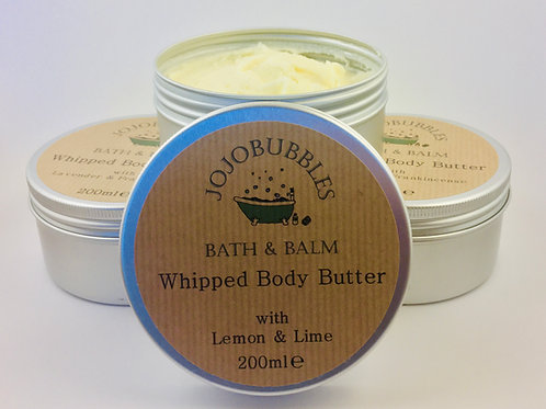Whipped Body Butter Lemon & Lime