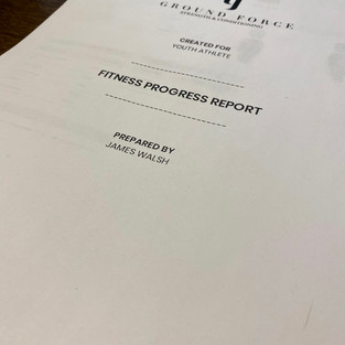 Athletic Report