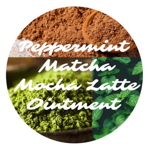 Peppermint Matcha Mocha Latte Ointment