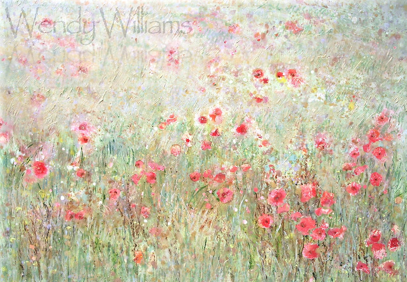 Summer Poppies   print