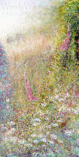 Glimpse of a Garden print