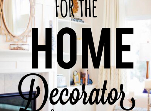 Holiday Gifts for the Home Decorator on Your List