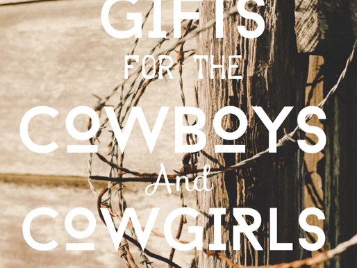 Holiday Gift Ideas for the Cowboys and Cowgirls on Your List