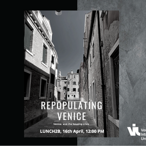 Lunch2B n°7: repopulating Venice-challenges and opportunities of the housing crisis