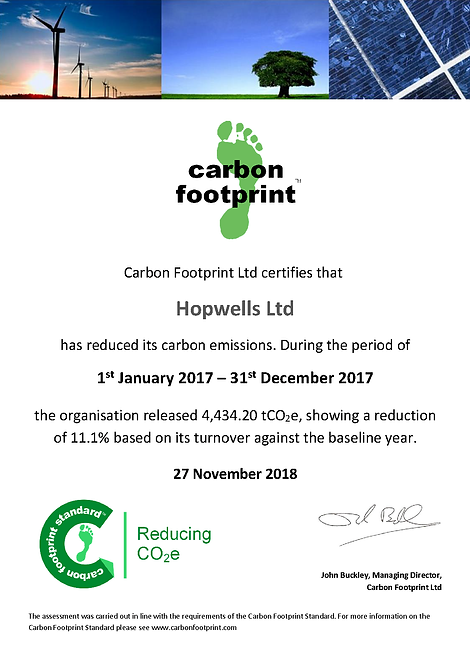2018_11 CFP Reducing Certificate Hopwell