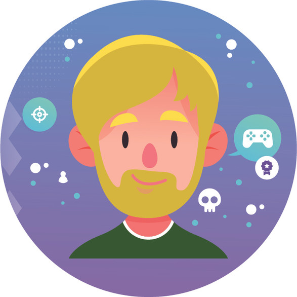 Gamer Twitch Profile Picture