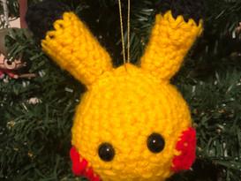 Pikachu Ornament