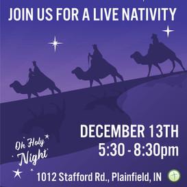 First Baptist Plainfield Live Nativity
