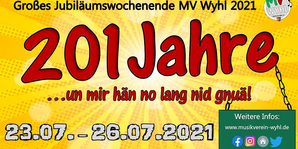 Jubiläumswochenende 200 Jahre MV Wyhl