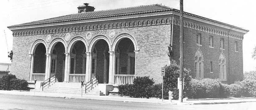 Library's Facade