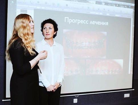 Евгения Быкова и Екатерина Тищенкок