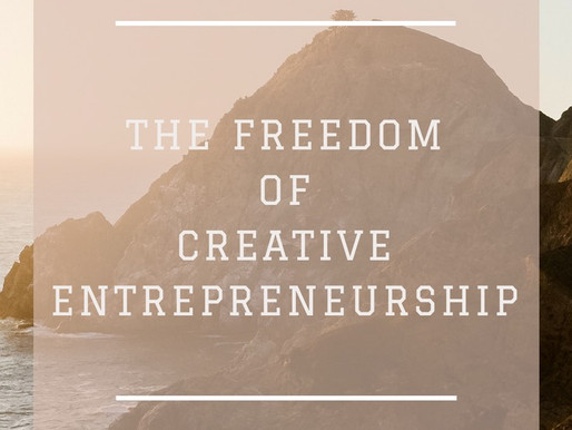 The freedom of creative work and entrepreneurship