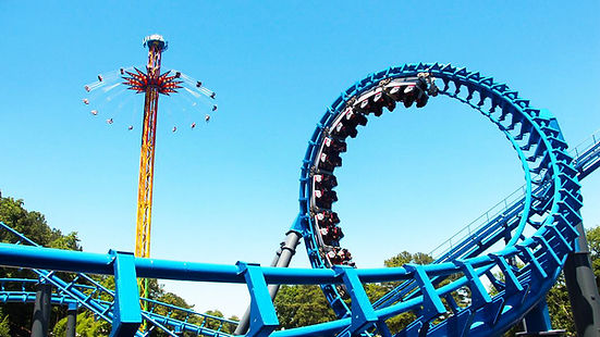 six flags New England in Agawam is the amusement and theme park near to hotel-Regency Inn