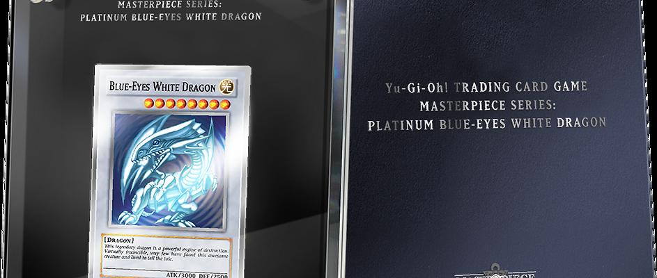YU-GI-OH! TCG MASTERPIECE SERIES: PLATINUM BLUE-EYES WHITE DRAGON
