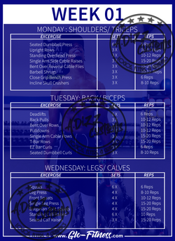 Glo Fitness Template