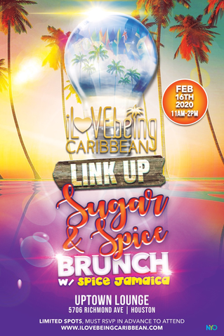 Caribbean Link Up...Sugar & Spice Brunch