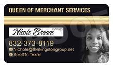 Queen of Merchant Services, Nichole Brown