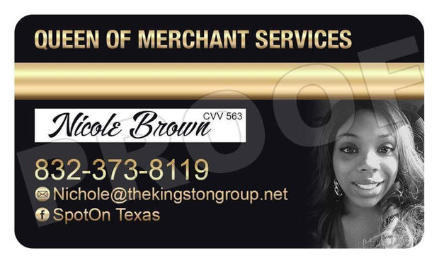 Queen of Merchant Services, Nichole Brown