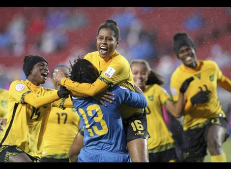 Jamaica Reggae Girls Are World Cup Bound