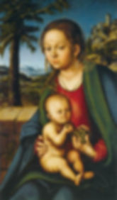 virgin-and-child-with-a-bunch-of-grapes-