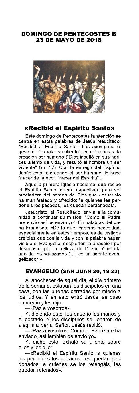 HC_2021-05-23 - Pascua 8ºB - Pentecostés