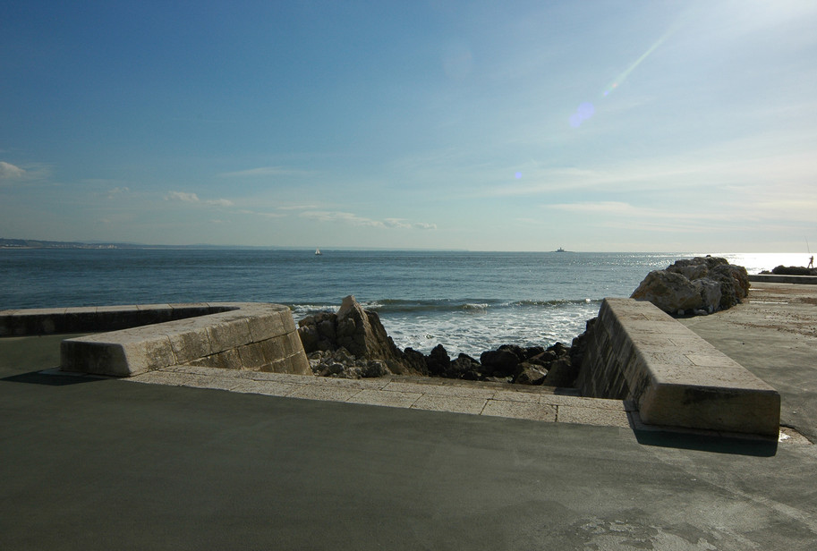 View from the promenade