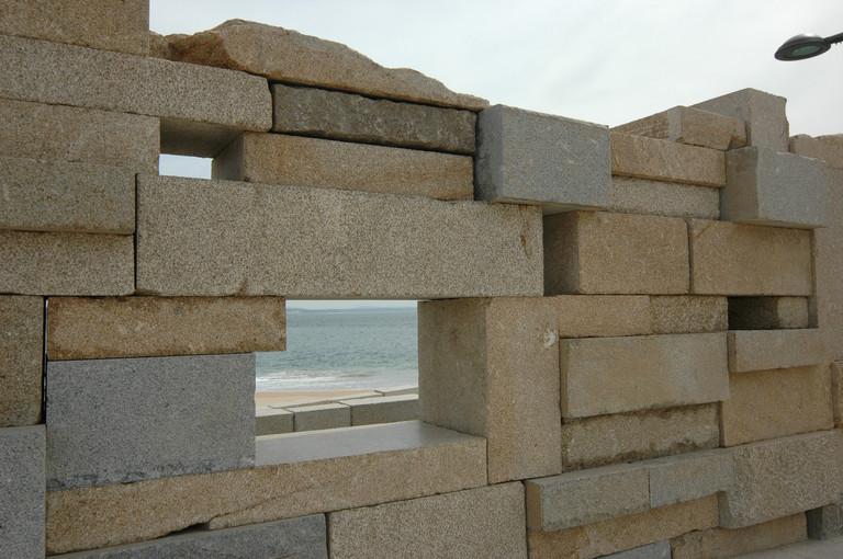 Detalhe de muro
